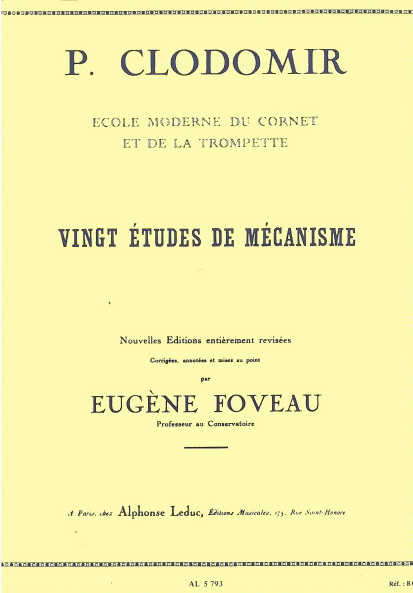 20 ETUDES DE MECANISME Op.143