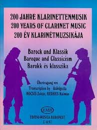 200 YEARS OF CLARINET MUSIC: Baroque and Classicism