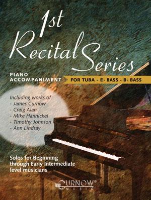 FIRST RECITAL SERIES piano accompaniment