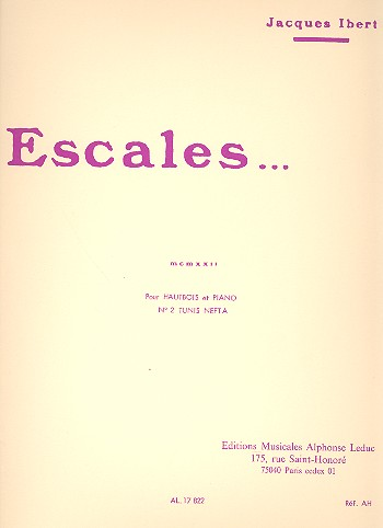ESCALES No.2 Tunis Nefta