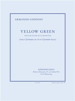 YELLOW GREEN (score & parts)