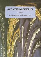 AVE VERUM CORPUS score & parts