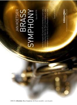 BRASS SYMPHONY Op.80 score & parts
