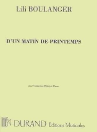 D'UN MATIN DE PRINTEMPS