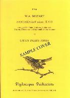 CANON from Five Bagatelles Op.47 (score & parts)