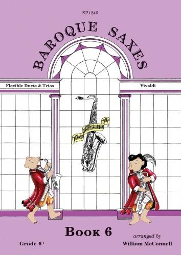 BAROQUE SAXES Volume 6 (score & parts)
