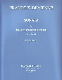 SONATA in F major Op.24 No.3