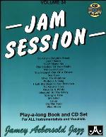 JAM SESSION Volume 34 + CD 18 jazz standards
