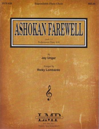 ASHOKAN FAREWELL score & parts