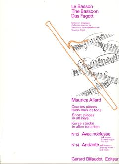 SHORT PIECES IN ALL KEYS 13 & 14: Avec Noblesse (F#) & Anda