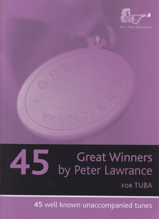 GREAT WINNERS + CD Tuba Part (bass clef)