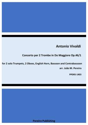 CONCERTO for Two Trumpets in C major Op.46 No.1 score & parts
