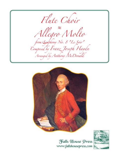 ALLEGRO MOLTO from Symphony No.8, 'Le Soir'