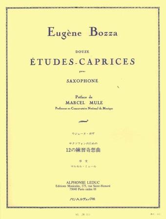 12 ETUDES CAPRICES