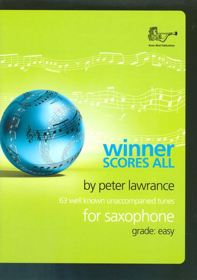 WINNER SCORES ALL Saxophone Part