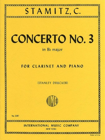 CONCERTO No.3 in Bb major
