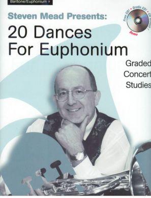 20 DANCES for Euphonium + CD (bass clef)
