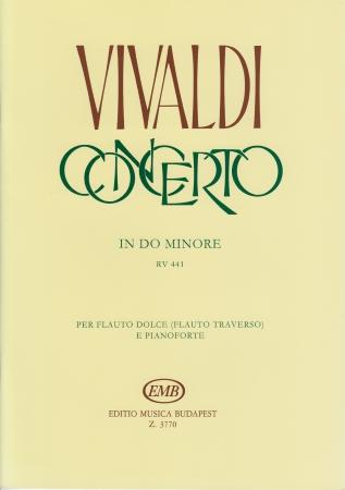 Concerto In C Minor Rv441 Fvi11 Sheet Music Vivaldi