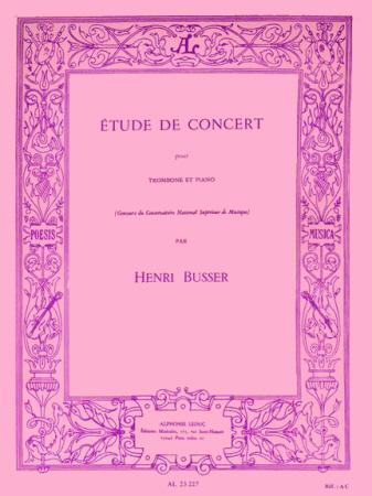 ETUDE DE CONCERT Op.79