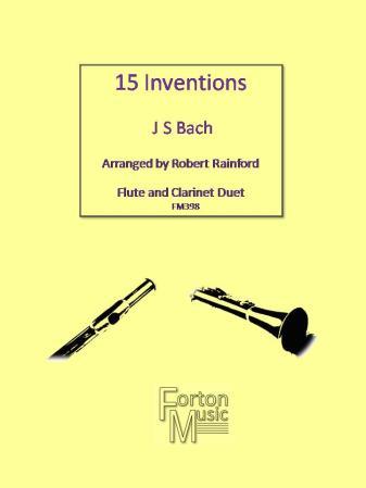 15 INVENTIONS (score & parts)
