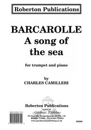 BARCAROLLE a song of the sea