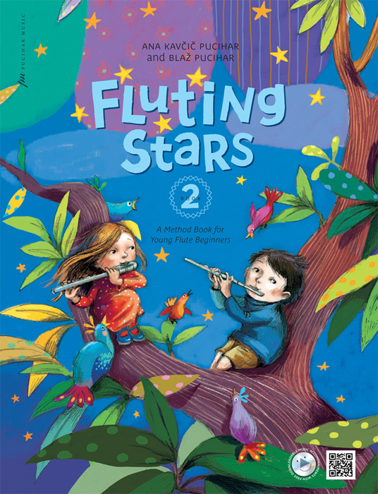 FLUTING STARS Book 2 + CD