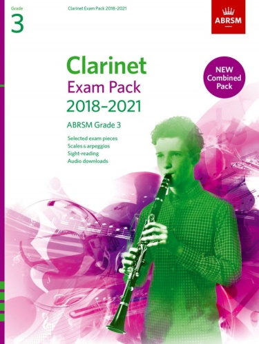 CLARINET EXAM PACK Grade 3 (2018-2021)