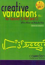CREATIVE VARIATIONS Volume 1 + CD