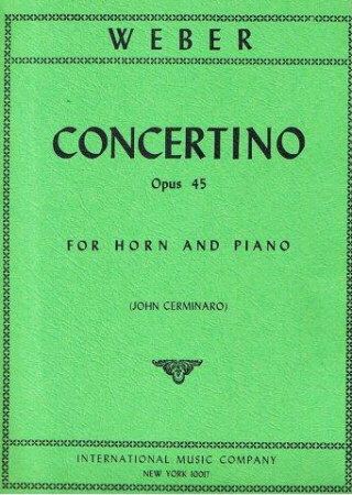 CONCERTINO in E minor Op.45