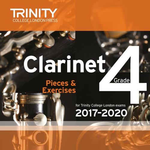 CLARINET PIECES 2017-2020 Grade 4 CD