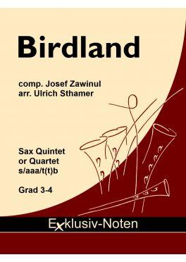 BIRDLAND (score & parts)