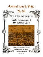 SIX SONATAS Op.9