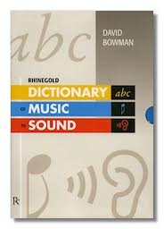 RHINEGOLD DICTIONARY OF MUSIC IN SOUND