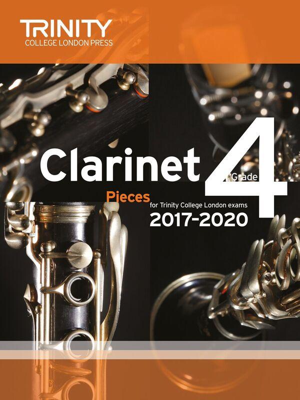 CLARINET PIECES 2017-2020 Grade 4 (score & part)