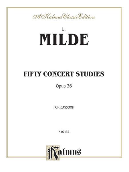 50 CONCERT STUDIES Op.26