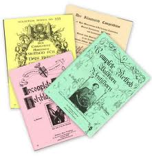 PROFESSOR SCHMUTZIG'S BOOKS Complete Set