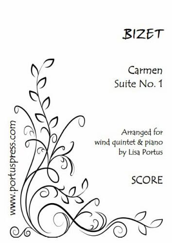 CARMEN SUITE No.1 (score & parts)