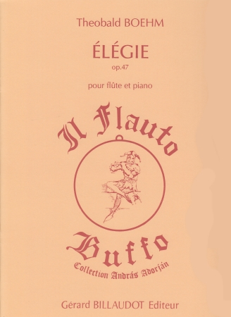 ELEGIE Op 47 Sheet Music | Boehm, Theobald (1794-1881) at