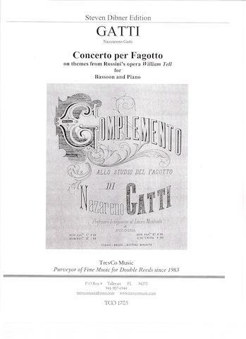 CONCERTO PER FAGOTTO on Themes from Rossini's William Tell