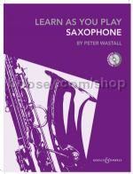 LEARN AS YOU PLAY ALTO SAXOPHONE + CD