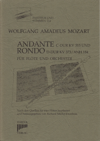 ANDANTE & RONDO score, parts & piano reduction