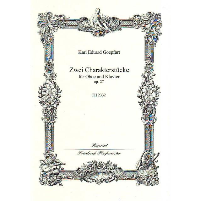 ZWEI CHARAKTERSTUCKE Op.27