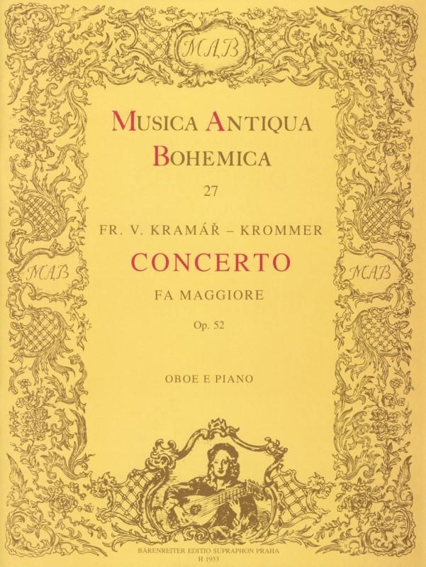 CONCERTO in F major Op.52