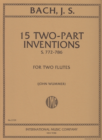 15 TWO PART INVENTIONS
