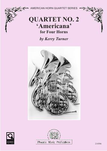 QUARTET No.2 'Americana' score & parts