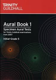 AURAL BOOK 1 + CD Initial-Grade 5 (2007-2016)
