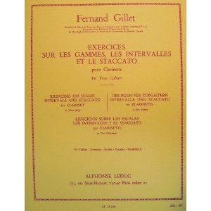 EXERCISES on scales, intervals, staccato
