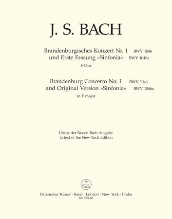 BRANDENBURG CONCERTO No.1 - Violin 1