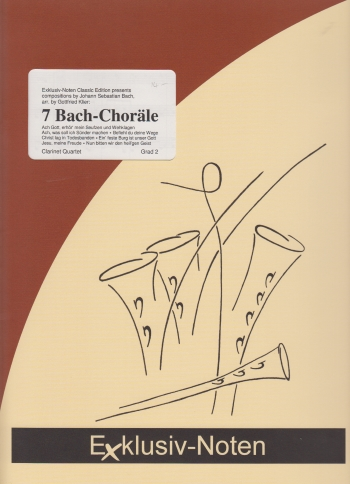 7 BACH CHORALES (score & parts)