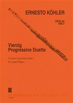 40 PROGRESSIVE DUETS Op.55 Volume 2